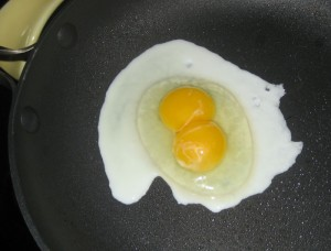 Is a double yolk lucky or unlucky?