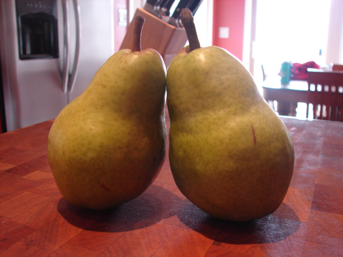 A couple of good pears