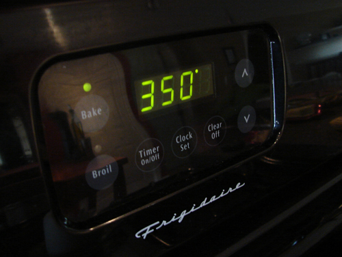Preheat the oven to 350°